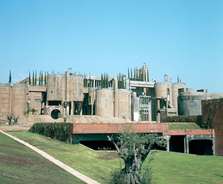 Ricardo Bofill Turns Cement Factory 01.