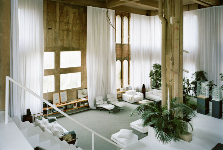 Ricardo Bofill Turns Cement Factory 97.