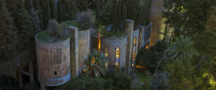 Ricardo Bofill Turns Cement Factory 06.