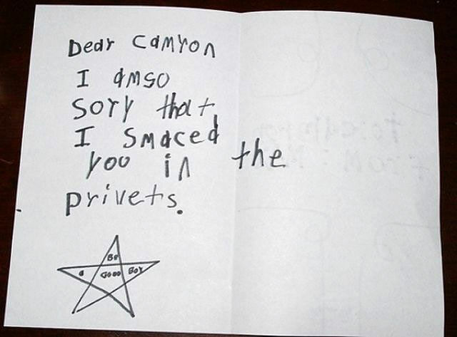 These 45 Shockingly Honest And Perverse Notes From Kids Are Totally Hilarious