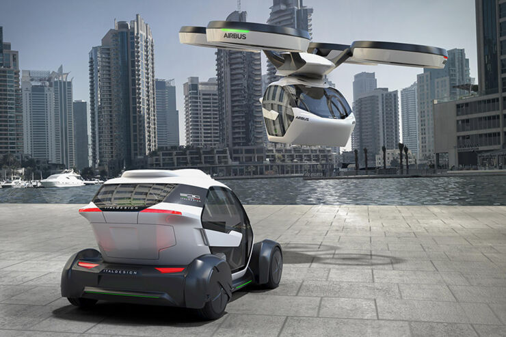 Airbus Flying Car - 01.