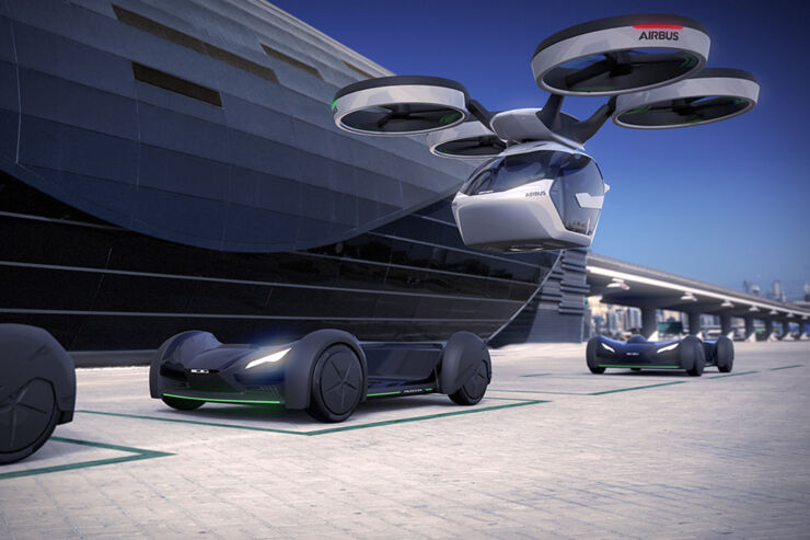 Airbus Flying Car - 02.