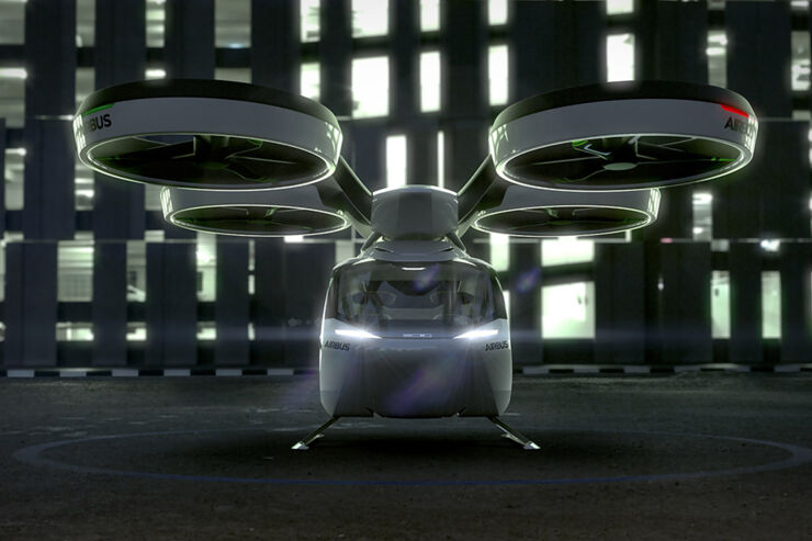 Airbus Flying Car - 03.