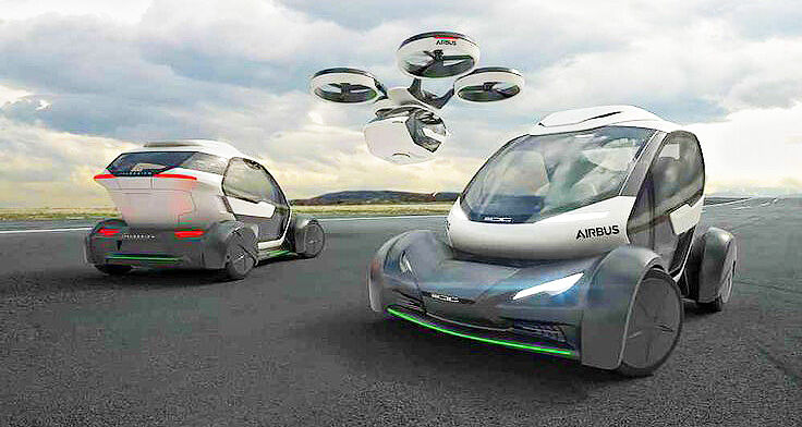 Airbus Flying Car Pop.Up - 31.