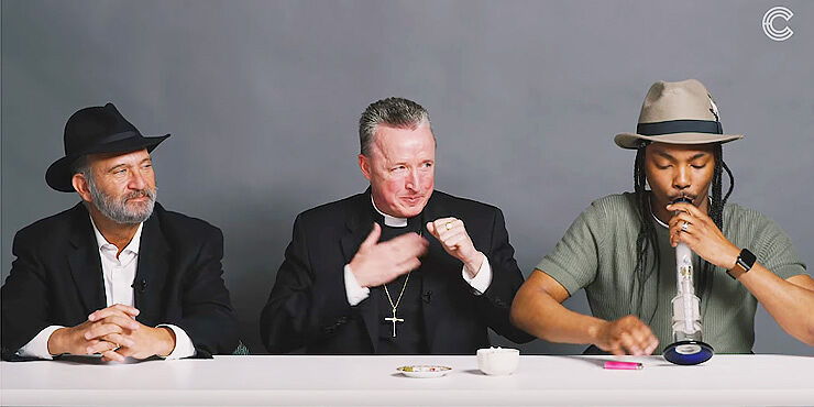 A Rabbi, a Priest and a Gay Atheist Amoke Weed and Get Stoned Together - 01.