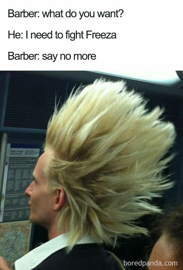 Say No More Barber Meme The Most Abominable Haircuts
