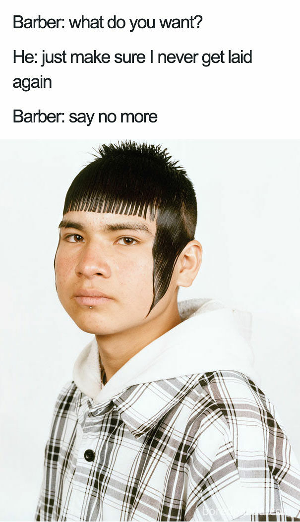 say no more barber meme - 07.