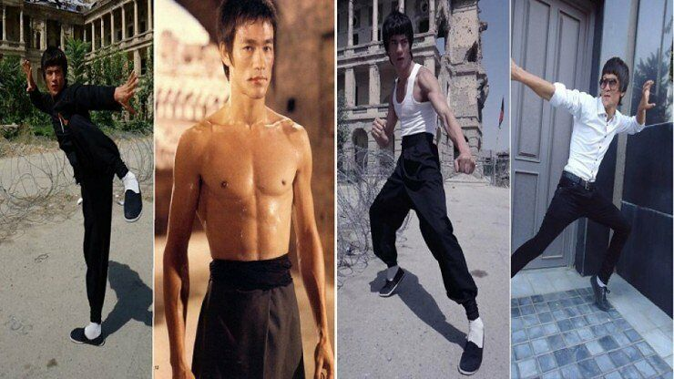 Meet The Afghan Bruce Lee - 99.