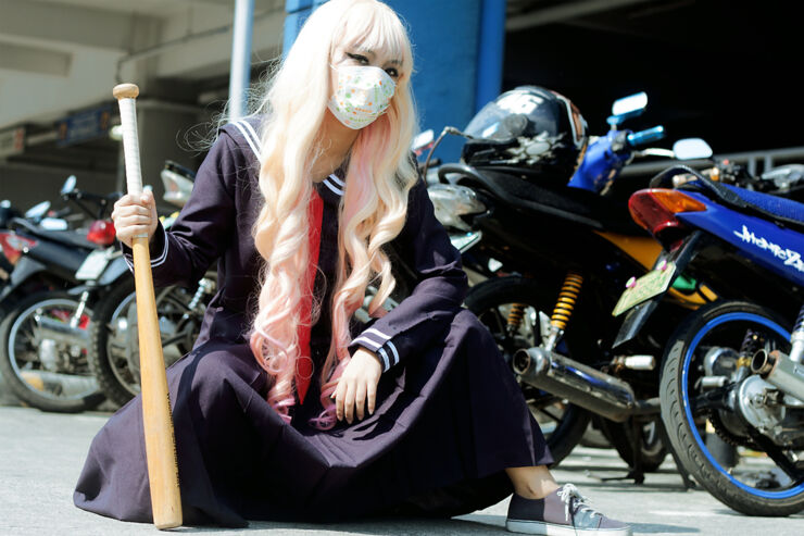 The Bosozoku Biker Girl Gangs Of Japan - 33.