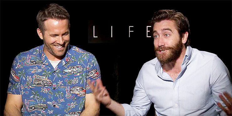 Life Movie: Ryan Reynolds and Jake Gyllenhaals Epic NSFW interview - 78.