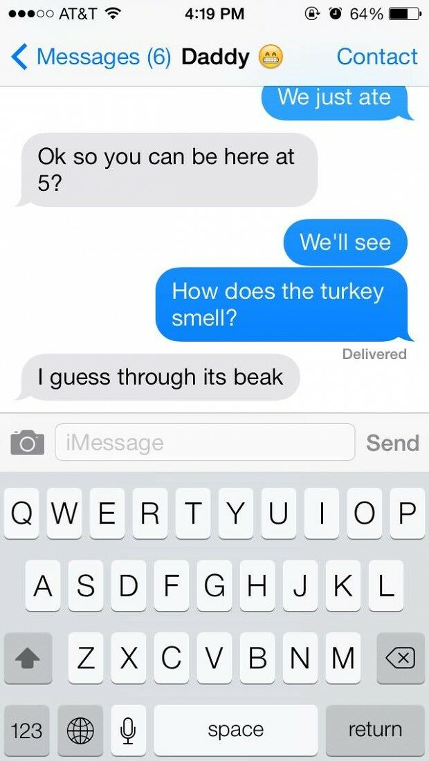 Funny Text Messages From Your Dad - 03.