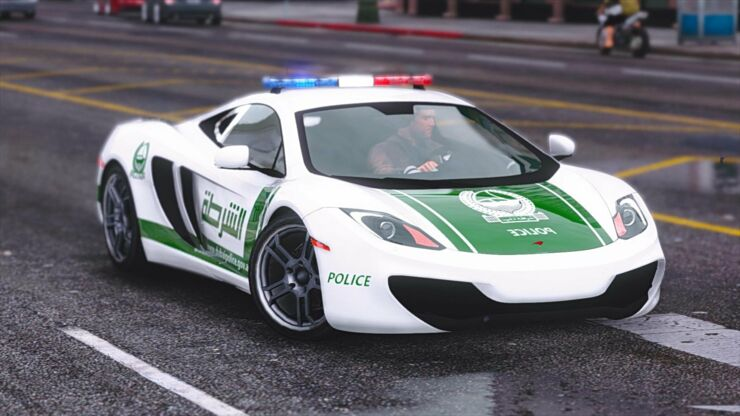 Dubai police cars are The Fastest Police Cars In The World - 02.