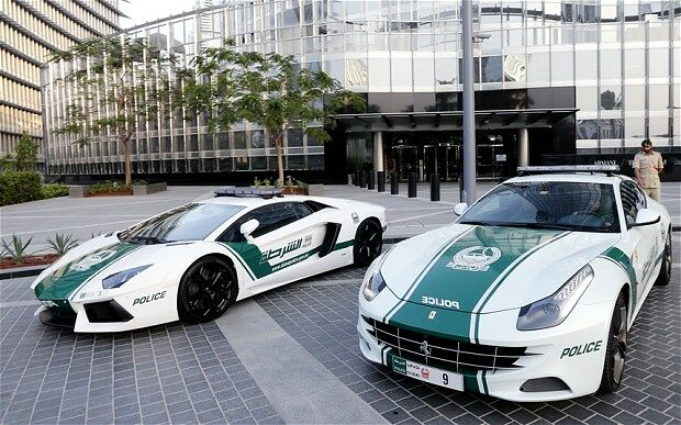 Dubai police cars are The Fastest Police Cars In The World - 04.