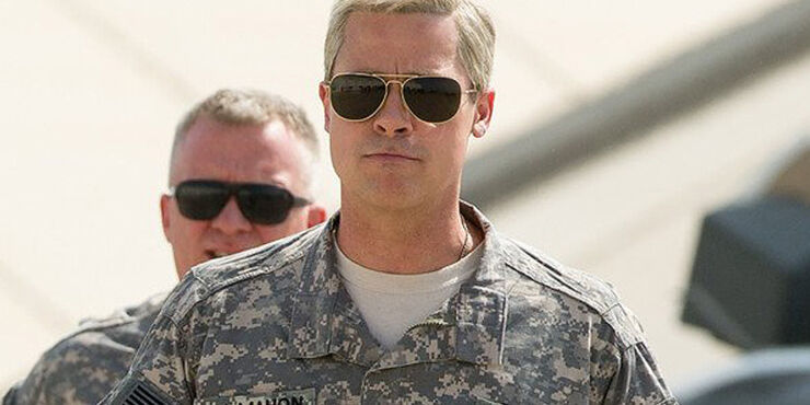 Brad Pitt Stars As General Glen McMahon.