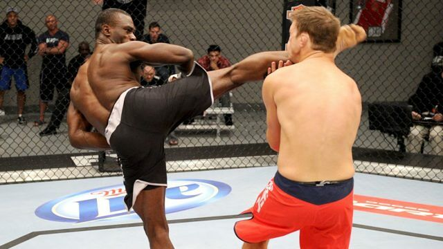 Seriously Brutal Spinning MMA Knockouts 02.