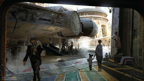 Disneyland Unveils More Disney Star Wars Land Details - 03.