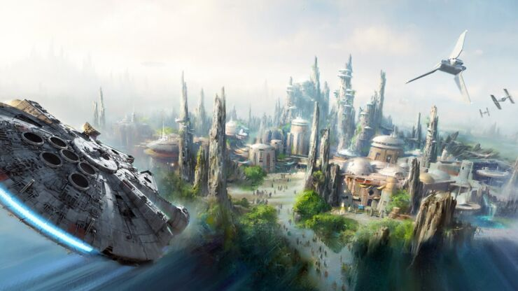Disneyland Unveils More Disney Star Wars Land Details - 98.