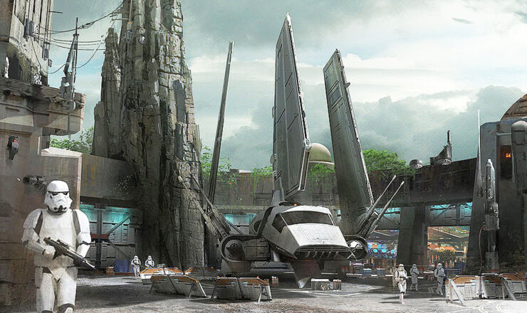 Disneyland Unveils More Disney Star Wars Land Details - 96.