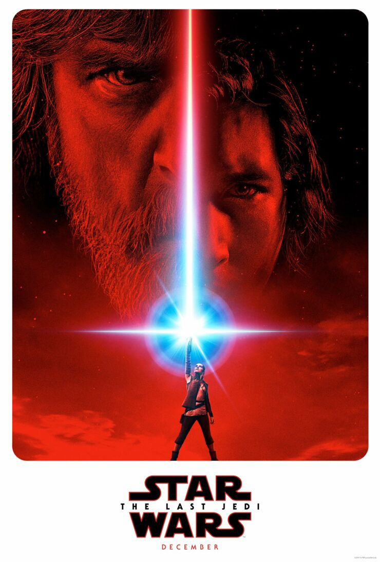 The Last Jedi Star Wars 8 The Gray Jedi Poster.