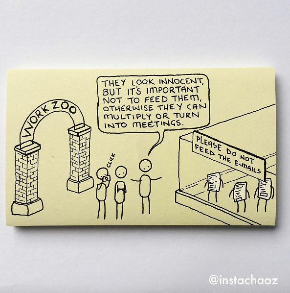 Chaz Hutton Creates Funny Sticky Notes Summarizing The Pains Of Adulthood - 03.