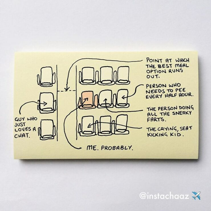 Chaz Hutton Creates Funny Sticky Notes Summarizing The Pains Of Adulthood 12.