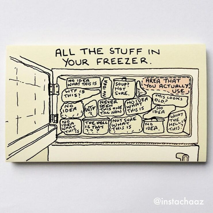 Chaz Hutton Creates Funny Sticky Notes Summarizing The Pains Of Adulthood 13.