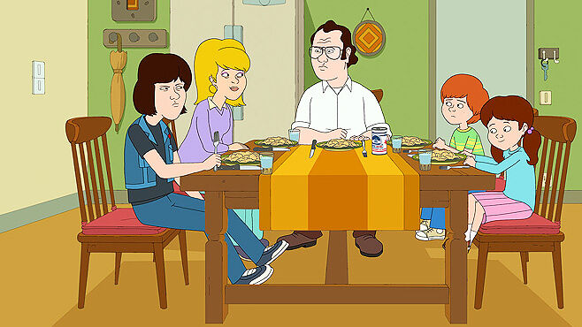 Netflix Originals F Is For Family.