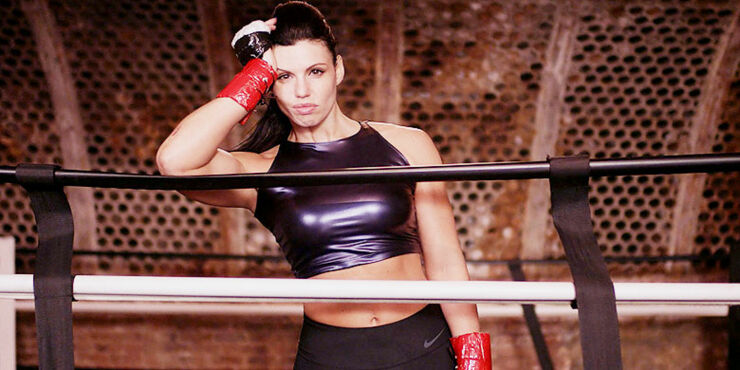 Professional Boxer Alicia Napoleon Feature.