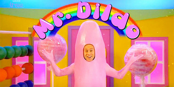 russell howard mr dildo feature.