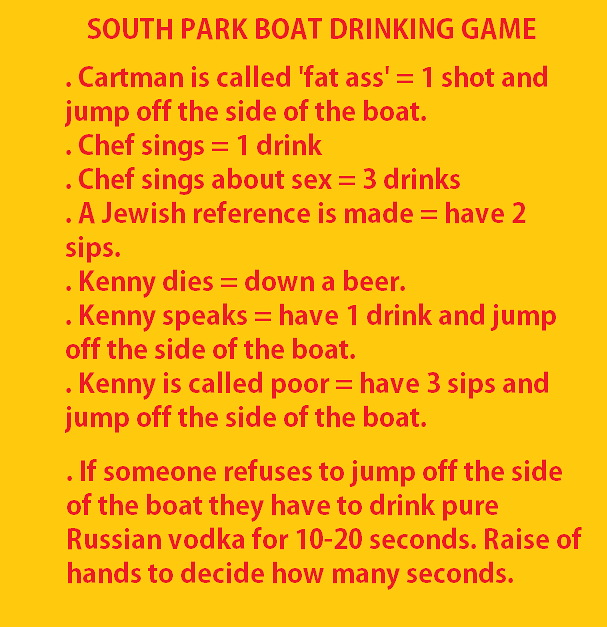TV Show Drinking Games - 05