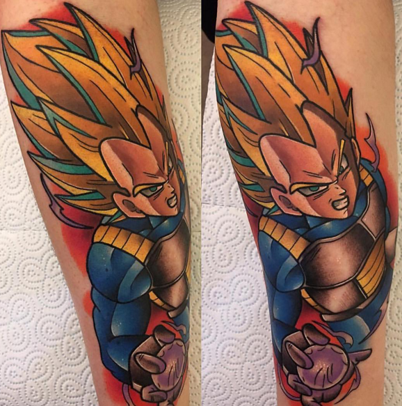 35 Insanely Awesome Dragon Ball Z Tattoos Fans Will Love