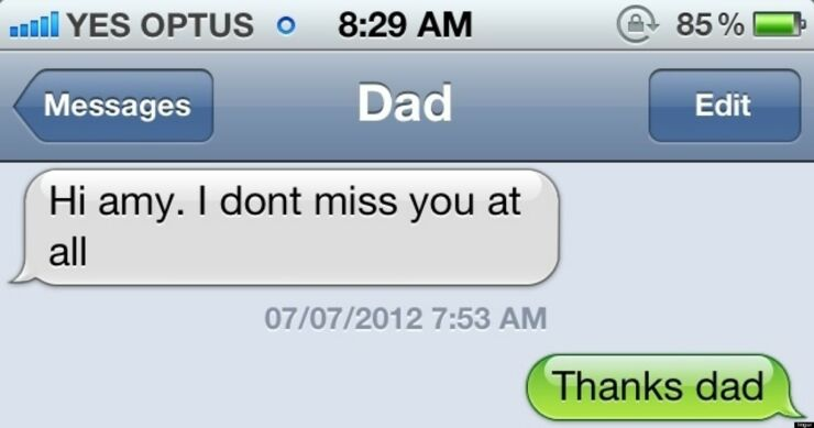 Funny Text Messages From Your Dad 63.
