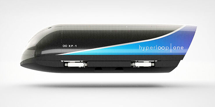 Hyperloop One High Speed Pod Test.