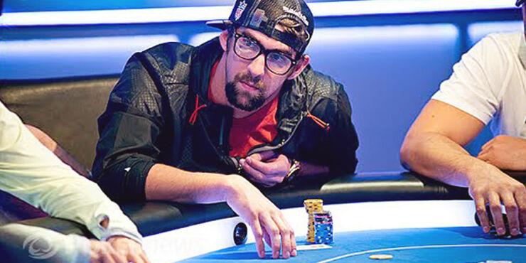 Celebrity Poker Players Michael Phelps.