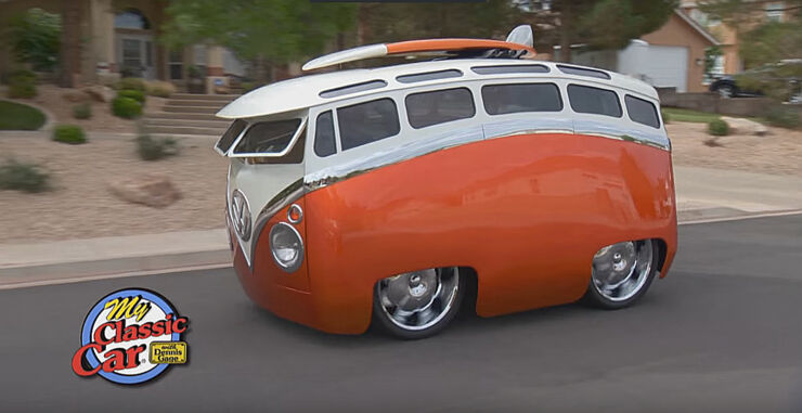 Ron Berry 1965 Cartoon Custom VW Bus Surf Seeker 01.