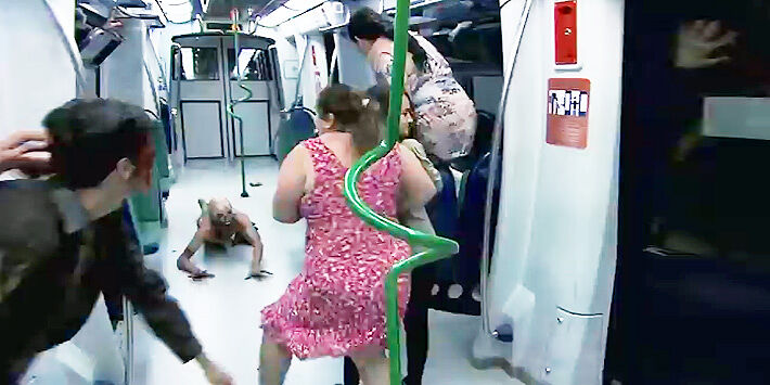 brazilian zombie train prank 22.