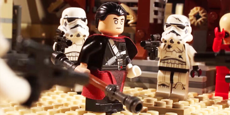 Chirrut vs. Everything  LEGO Star Wars Parody 02.