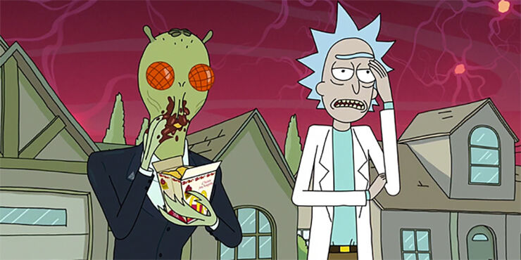 rick and morty Szechuan Sauce 01.