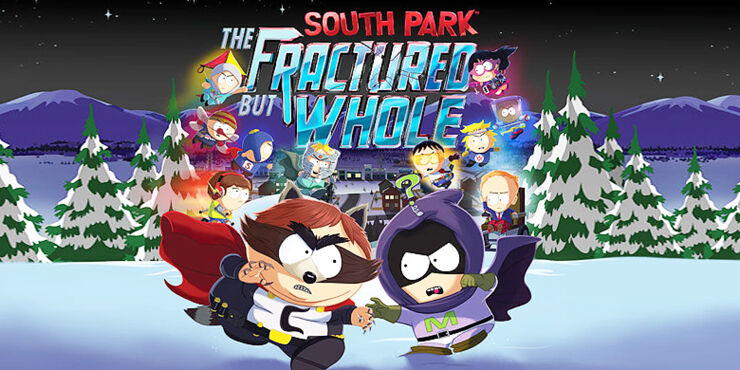 South Park The Fractured But Whole video game.