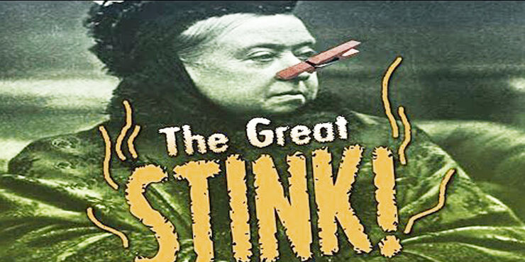 The great stink 1858.