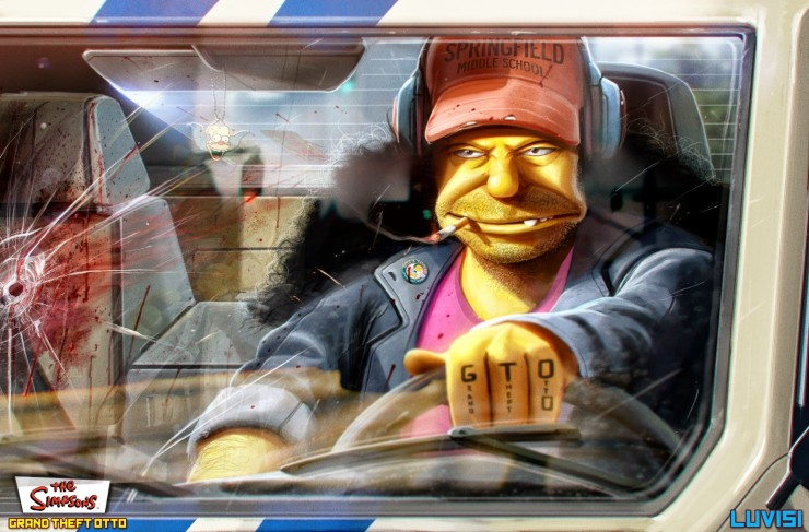 Grand Theft Otto - By Dan LuVisi (1 of 20)