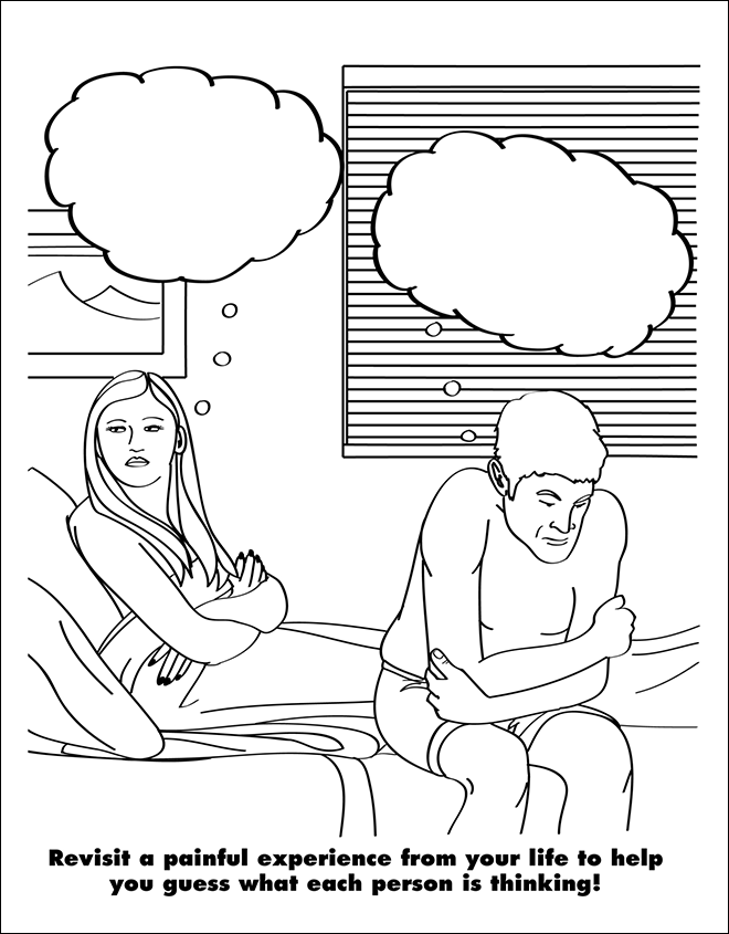 Coloring Book For Grown Ups Is Hilarious And Depressing