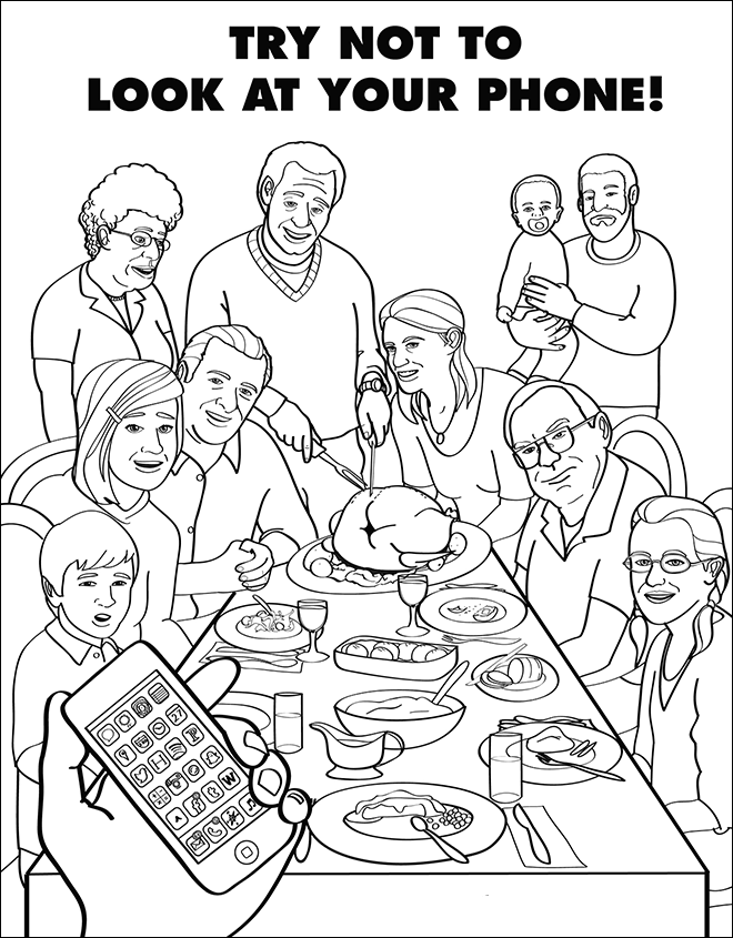 Coloring Book For Grown-Ups Is Hilarious And Depressing