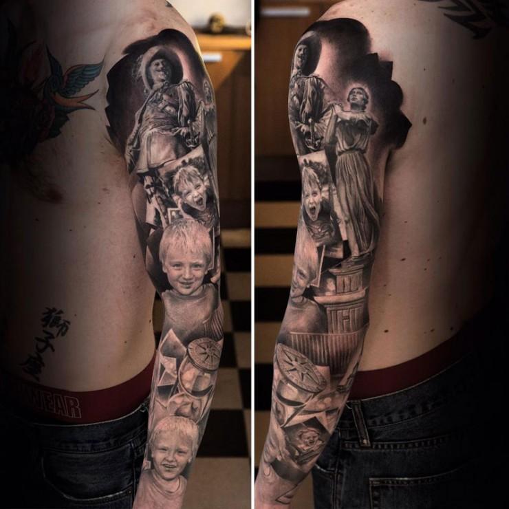 Sleeve Tattoos Niki Norberg 05.