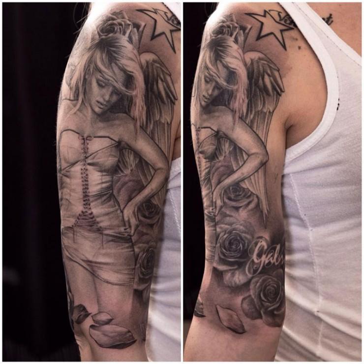 Sleeve Tattoos Niki Norberg 08.