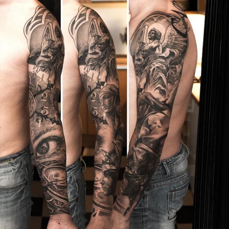 Sleeve Tattoos Niki Norberg 10.