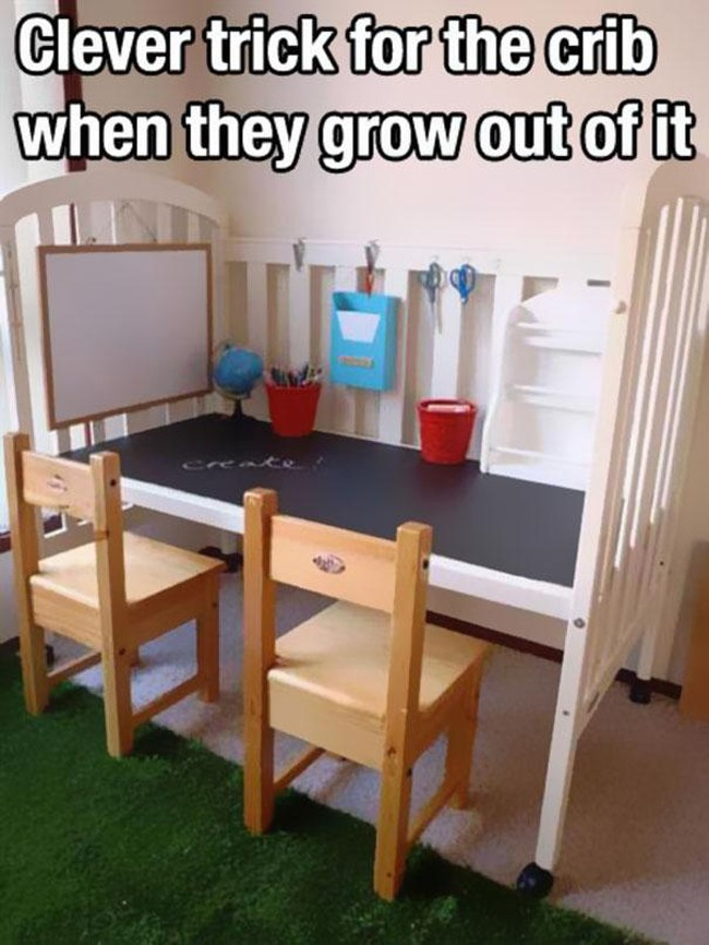 What to do with your crib when the kids grow out of it (6 of 50)
