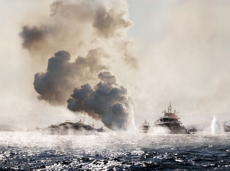 Vincent Debanne Turns Luxury Yachts Into Battleships For The Mega Rich 01.