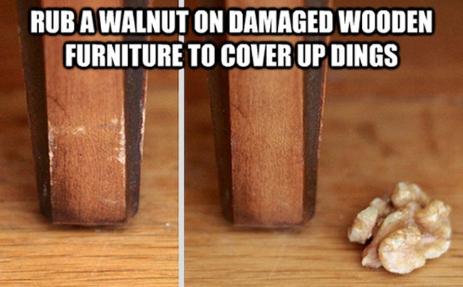 How to get rid of scratches on wooden furniture (22 of 50)