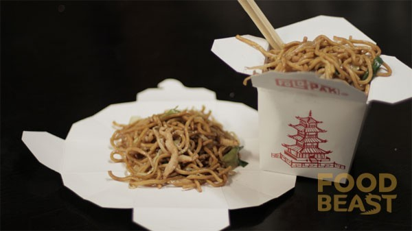 Chinese containers are designed to fold out into plates (26 of 50)